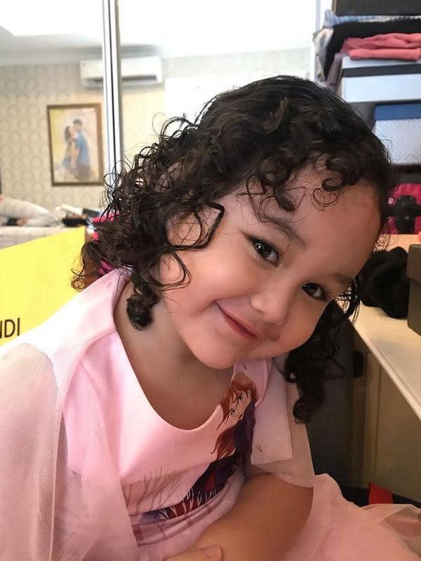 Princess Kayla Anak Bungsu Pasha Ungu dan Adelia (Sumber: Instagram//adeliapasha/)
