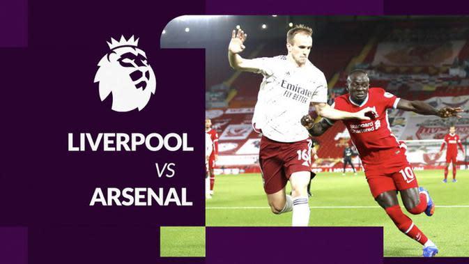 MOTION GRAFIS: Statistik Liga Inggris, Arsenal Tercatat Kalah Kualitas dari Liverpool