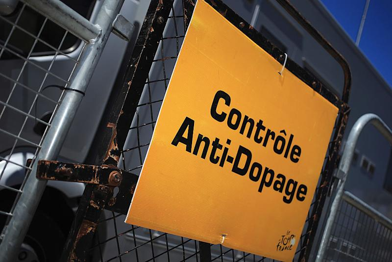 Anti-Doping Control sign
