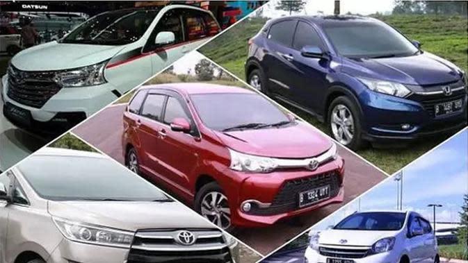Deretan Mobil Terlaris Sepanjang April 2020