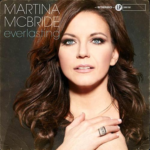 """This CD cover image released by Vinyl Records shows """"Everlasting"""" by Martina McBride. McBride, known for her huge soprano voice, is self-releasing """"Everlasting,"""" on March 4, a new album of classic soul and R&B songs made famous by the likes of Franklin and James, but also Elvis and Van Morrison and more.(AP Photo/Vinyl Records )"""
