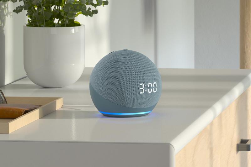 Echo Dot 4th Gen Clock Model