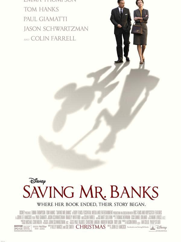 Saving Mr. Banks. (Walt Disney Studios Motion Pictures)