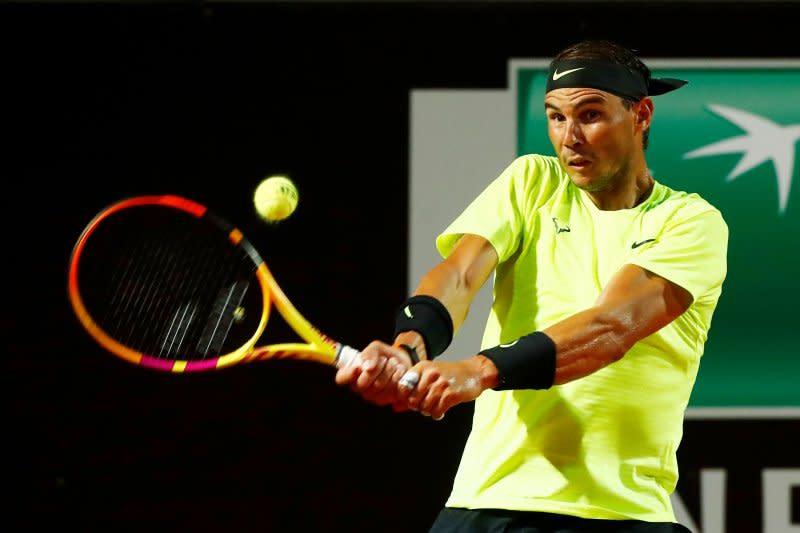 Nadal lewati Lajovic untuk ke perempat final Italian Open