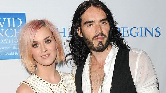 Katy Perry, Russell Brand Split