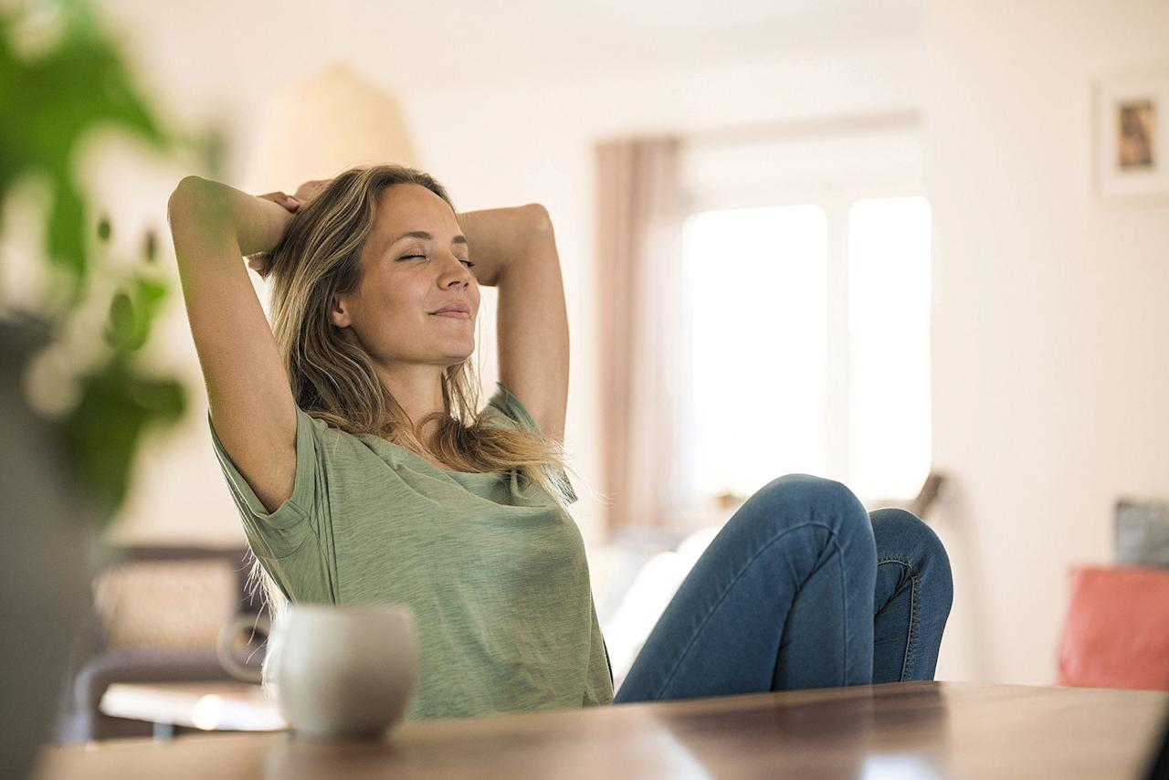 """<p>When we are stressed-out, sad, <a href=""""https://www.goodhousekeeping.com/health/wellness/a27018965/anxiety-symptoms-sign-women/"""" target=""""_blank"""">anxious</a>, irritated, or angry, we typically want those feelings to just disappear.  This is natural. It can be difficult to sit with uncomfortable emotions, especially when we feel like there's no way out. We might try to drown them out with Netflix, work, exercise, or Oreos.  Or maybe we try to blast out the blues with positive affirmations or pep talks in the mirror.</p><p>And while some of these activities can be helpful in the moment, denying our feelings <a href=""""https://www.sciencedaily.com/releases/2011/03/110323105202.htm"""" target=""""_blank"""">can actually make them more intense</a> and <a href=""""https://www.health.harvard.edu/diseases-and-conditions/the-gut-brain-connection"""" target=""""_blank"""">negatively effect</a> our physical and mental health. So how can we healthily face and release our emotions instead of sweeping them under the rug? <strong>One way is to <a href=""""https://www.goodhousekeeping.com/health/wellness/g4585/meditation-videos/"""" target=""""_blank"""">practice mindfulness</a></strong>: the practice of becoming self-aware in the present moment.</p><p>""""[Mindfulness] allows us to bring a healthy discernment into our everyday experience and identify the elements of our thought, speech, and behavior that lead to suffering and those that lead to freedom,"""" says NYC-based meditation instructor <a href=""""https://www.kiratrandhawa.com/about-1"""" target=""""_blank"""">Kirat Randhawa</a>. """"Over time we can strengthen the causes for freedom and diminish the causes of suffering. Once we recognize the necessary conditions for happiness, mindfulness allows us to meet the experience with an embodied presence, thereby truly enjoying the unfolding of each moment.""""</p><p>While happiness and joy may not be the immediate results of doing a mindfulness exercise, doing them consistently can help put an end to excessively ruminating on the past"""