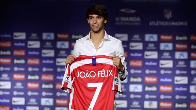 Pemain anyar Atletico Madrid, Joao Felix