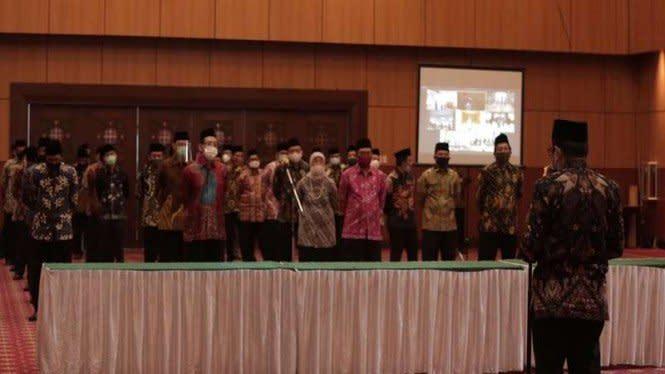 Menag Lantik Rektor UIN Yogyakarta dan 19 Pejabat di Kemenag