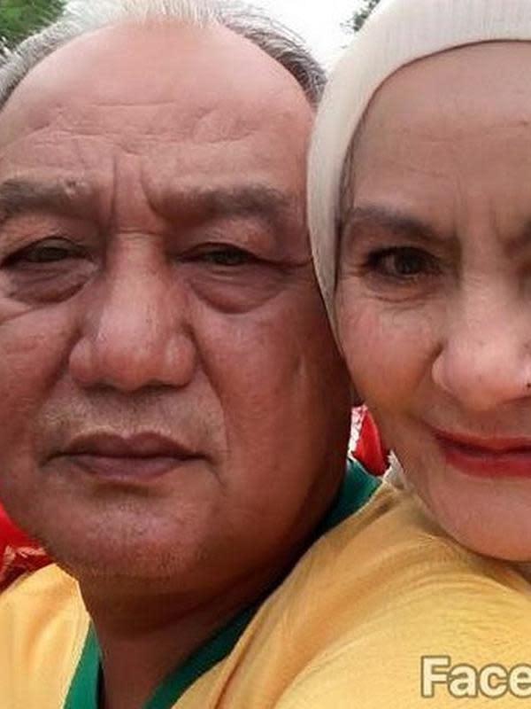 Dewi, istri kedua Aziz Gagap
