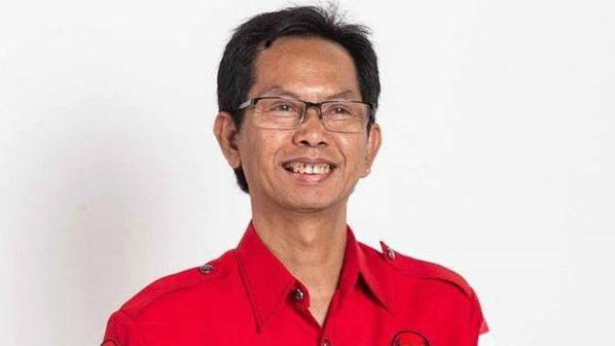 Ketua DPC PDIP Kota Surabaya, Adi Sutarwijono (Foto:Liputan6.com/Dian Kurniawan)