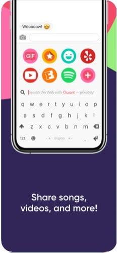 best iphone keyboard apps flek1