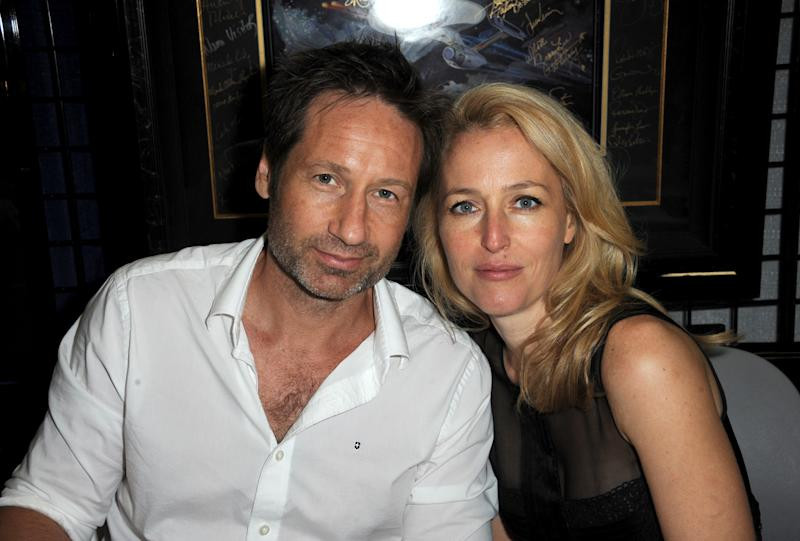 'X-Files' Marks the Spot: Scully, Mulder Together Again at Comic-Con