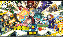 人氣角色首登場《我的英雄學院》X《怪物彈珠》第2彈合作活動9月開跑
