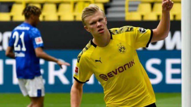 VIDEO: Parade Gol Erling Haaland Bersama Borussia Dortmund