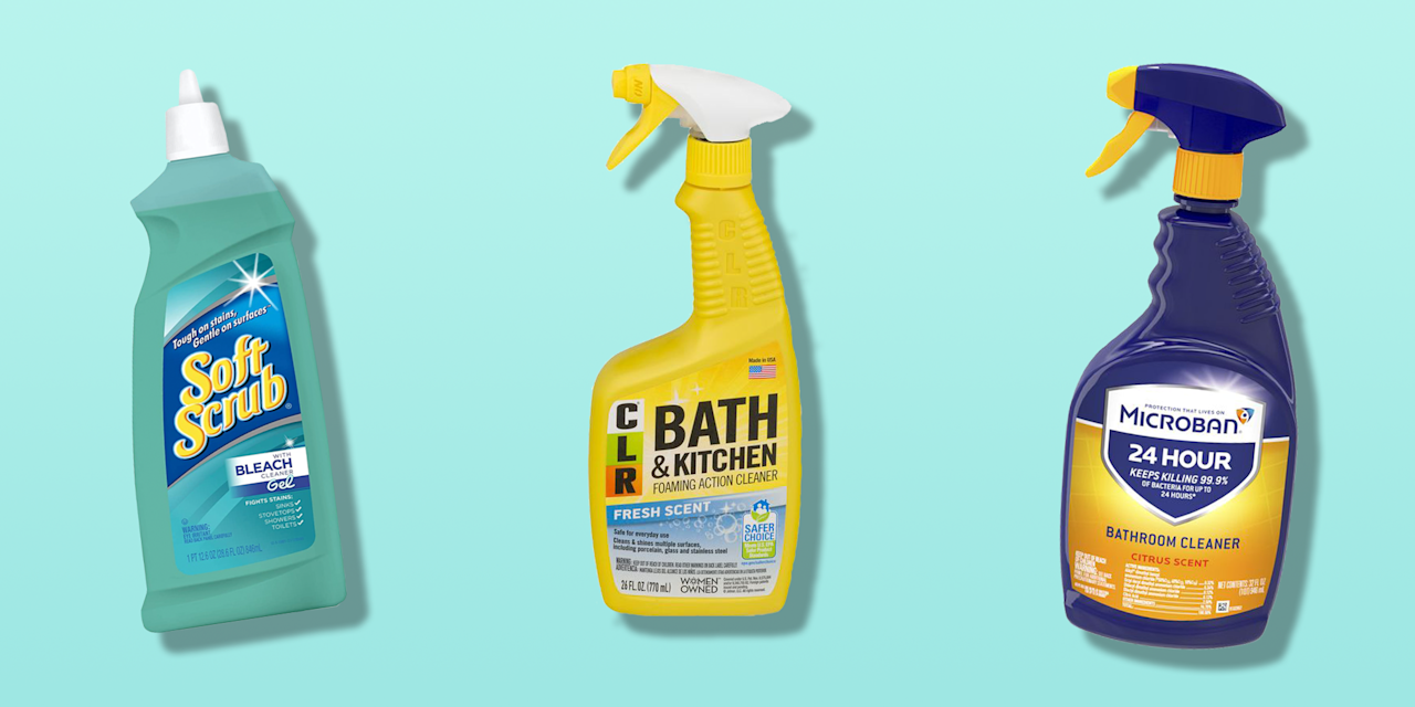 """<p>Despite all your efforts to prevent mildew and mold from taking hold, white grout does eventually get dingy and discolored, especially in corners and along ledges where water settles. That's when you need a good grout cleaner. Nothing is a faster facelift for your bathroom than <a href=""""https://www.goodhousekeeping.com/home/cleaning/tips/a21016/remove-grout-stain-jul04/"""" target=""""_blank"""">restoring stained grout</a> to a clean and brilliant state. </p><p>When the <a href=""""https://www.goodhousekeeping.com/institute/about-the-institute/a19748212/good-housekeeping-institute-product-reviews/"""" target=""""_blank"""">Good Housekeeping Institute Cleaning Lab</a> tests bathroom and grout-cleaning products, we assess how easily and quickly they cut through the dirty grout lines on our ceramic and marble tile test panels. We review the labeling and directions for completeness and any required safety precautions and evaluate how easy the products are to apply and rinse off.  Then, consumer testers take them home to clean the soap scum and mildew stained grout in their own showers that you just can't duplicate in a lab.   </p><p>These are the best products for cleaning grout according to the Good Housekeeping Institute Cleaning Lab tests: </p><ul><li><strong>Best Overall Grout Cleaner:</strong> <a href=""""https://go.redirectingat.com?id=74968X1596630&url=https%3A%2F%2Fwww.walmart.com%2Fip%2FCLR-Bath-Kitchen-Cleaner-Enhanced-Formula-Multi-Surface-Cleaner-Fresh-Scent-26-Oz%2F15716789&sref=https%3A%2F%2Fwww.goodhousekeeping.com%2Fhome%2Fg19643243%2Fbest-tile-grout-cleaner%2F"""" target=""""_blank"""">CLR Bath & Kitchen Foaming Action Cleaner</a></li><li><strong>Best Gel Grout Cleaner</strong>: <a href=""""https://www.amazon.com/dp/B007HBT2ZO?tag=syn-yahoo-20&ascsubtag=%5Bartid%7C10055.g.19643243%5Bsrc%7Cyahoo-us"""" target=""""_blank"""">Soft Scrub Bleach Cleaner Gel</a></li><li><strong>Best Long-Lasting Grout Cleaner: </strong><a href=""""https://go.redirectingat.com?id=74968X1596630&url=https%3A%2F%2Fwww.walma"""