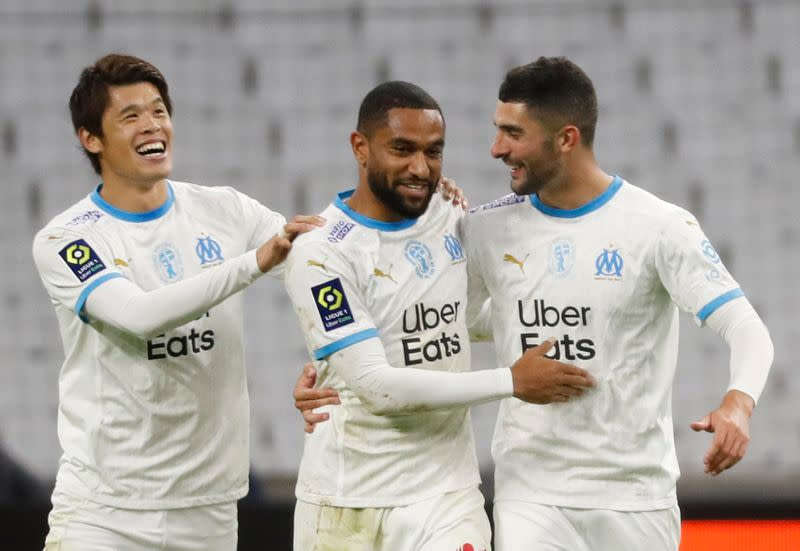 Marseille end winless streak with victory over Bordeaux