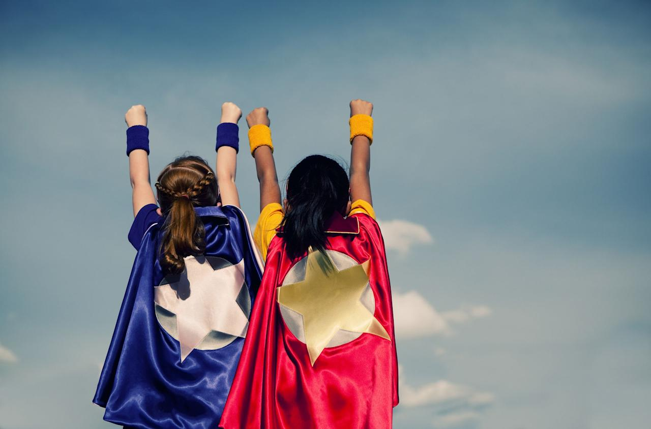 """<p>It's never too early to start planning your Halloween costume, and if you're stumped this year, fear not! We've rounded up some of our favorite superhero costumes right here that will save the day, even if you're feeling totally uninspired to dress up. Ahead, you'll find options for <a href=""""https://www.countryliving.com/diy-crafts/g29074815/family-halloween-costume-ideas/"""">family Halloween costume ideas</a>—yes, even <a href=""""https://www.countryliving.com/diy-crafts/g4571/diy-halloween-costumes-for-women/"""">DIY Halloween costumes for women</a>, too! Whether you're looking for a <a href=""""https://www.countryliving.com/diy-crafts/g21349110/best-friend-halloween-costumes/"""">best friend Halloween costume</a> or a <a href=""""https://www.countryliving.com/diy-crafts/g1360/halloween-costumes-for-kids/"""">Halloween costume for kids</a>, you're bound to discover a superhero outfit that fits your needs.</p><p>Although some of these outfits are available to buy, you'll find that a lot of these superhero costumes are completely DIY. So if you want a <a href=""""https://www.countryliving.com/diy-crafts/g1189/best-halloween-crafts-ever/"""">Halloween craft</a> to make with your kids, what better way to spend time together than making one of these looks? Just because they're DIY doesn't mean they're hard to put together either. A lot of these homemade outfits only call for swatches of fabric or felt—it doesn't get much easier than that. Even if you can't find the Robin to your Batman, we've also included <a href=""""https://www.countryliving.com/life/kids-pets/tips/g1913/pet-halloween-costumes/"""">pet Halloween costumes</a> too. </p><p>Are you ready to be a hero at your next Halloween party? Just look to some of our favorite superhero costumes for inspiration.</p>"""