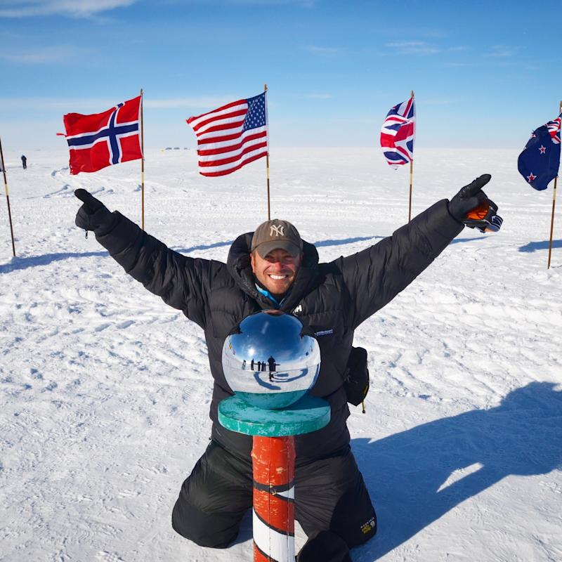Lee Abbamonte has traveled to every country in the world, including the North & South Poles (Courtesy: Lee Abbamonte)