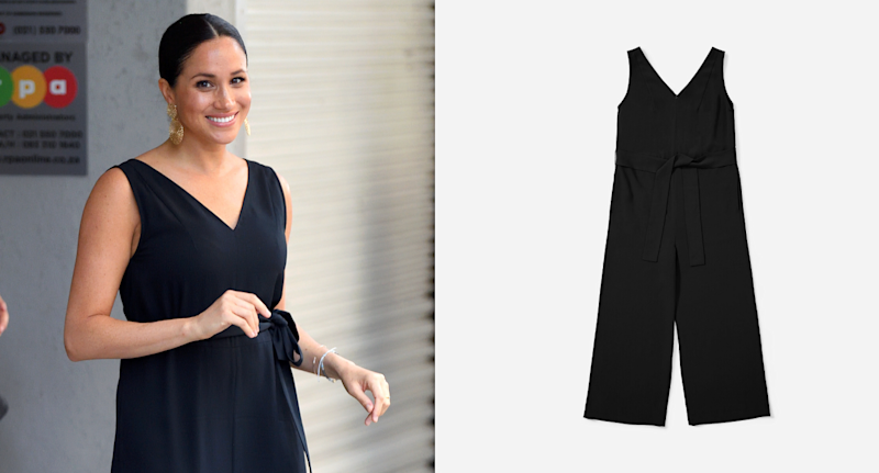 Meghan Markle in The Japanese GoWeave Essential Jumpsuit.