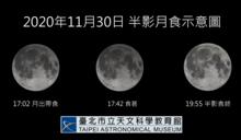 今年最後一場半影月食秀即將登場 天文館現場直播一窺究竟