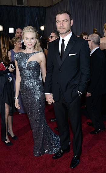 85th Annual Academy Awards - Arrivals: Naomi Watts and Liev Schreiber