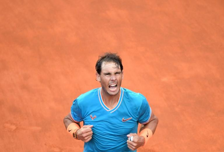 Nadal finding his feet on Roman clay ahead of long-awaited return