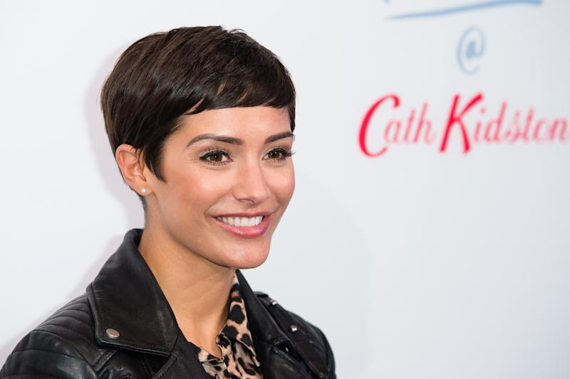 Frankie Bridge, photographed here in 2018, has sparked an iPad debate. (Getty Images)
