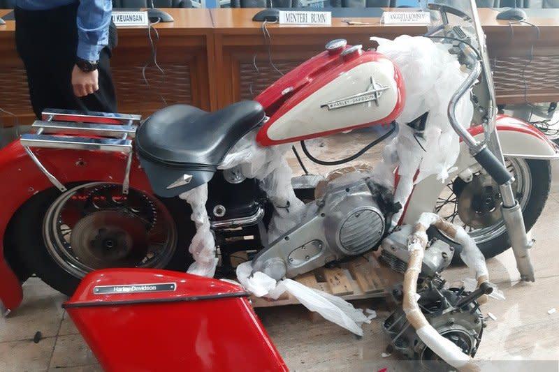 Menkeu heran SAS si pembawa Harley ilegal tak suka motor