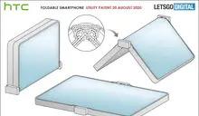 HTC 摺疊手機設計專利曝光!採向外翻摺螢幕與獨特鉸鏈設計