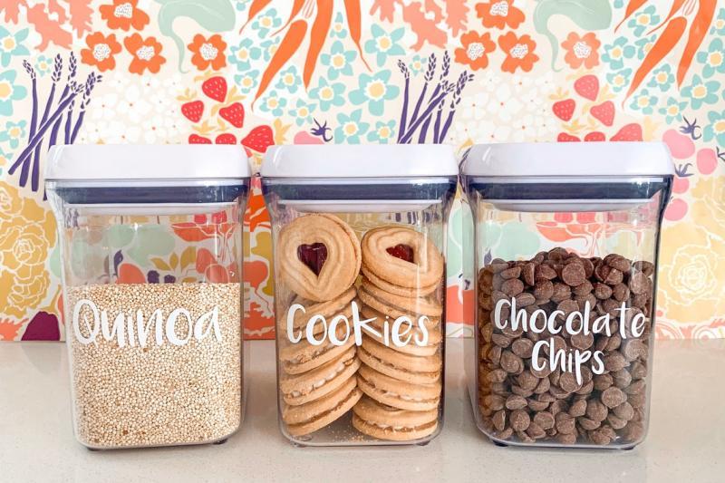Custom pantry labels (Photo via Etsy)