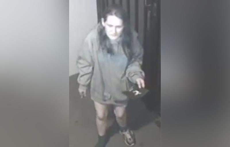Geelong woman Melanie Blogg seen on CCTV half-dressed days before her body was found in the Barwon River.