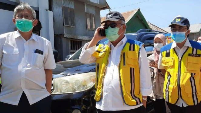 Menteri PUPR Basuki Hadimuljono di Labuan Bajo, NTT.