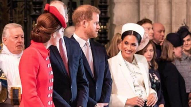 Kate Middleton dan Ratu Elizabeth Sekongkol Mengontrol Meghan Markle