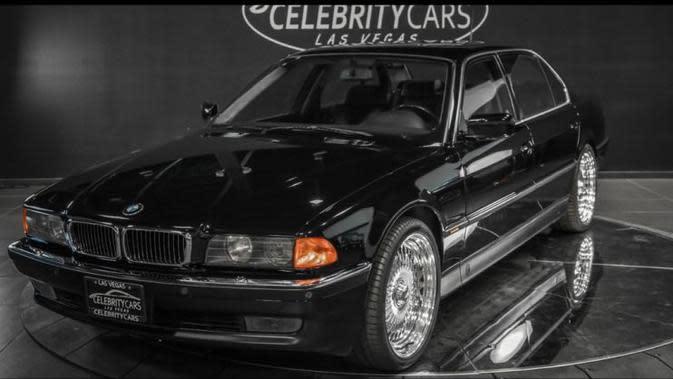 Dijual, BMW Seri 7 Saksi Bisu Penembakan Rapper Tupac