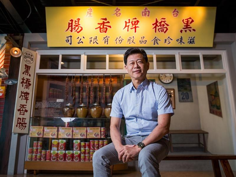 台灣香腸6月打進日本 超市上架2天搶光 60年老店黑橋牌怎做到的?