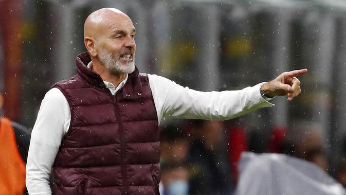 Stefano Pioli (AC Milan). (AP/Antonio Calanni)