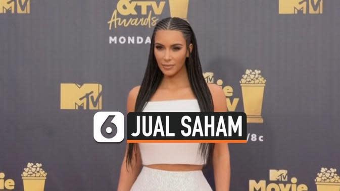 VIDEO: Kim Kardashian Jual Saham Produk Kecantikan Senilai Rp 2,8 Triliun