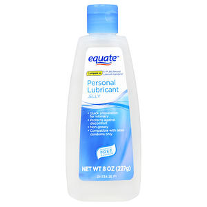 Equate Lubricating Jelly Personal Lubricant, 8 oz