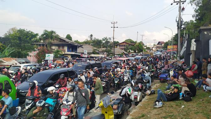 Puncak Bogor Macet Parah, Kasat Lantas: Subhanallah
