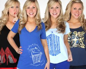 Win a 'Doctor Who' women's T-shirt from Yahoo! TV