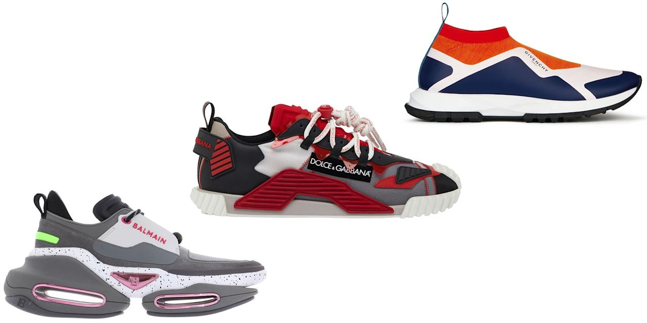 <p>If there's any closet staple more versatile than the sneaker, it has yet to show itself. Once reserved for workouts and grocery runs, the choice footwear has graduated to become an integral part of high-fashion collections and everyday wardrobes alike. </p><p>With new designer launches from  houses including Chanel, Dolce & Gabbana, and Balenciaga featuring technically refined styles dropping every season, it's easier than ever to find the perfect pair to achieve any desired look—be it polished, sleek, fashion-forward, classic, or comfy. Shop our list below for the best sneakers and sneaker trends of 2020. And bonus: We offer style notes on what to wear with.</p>