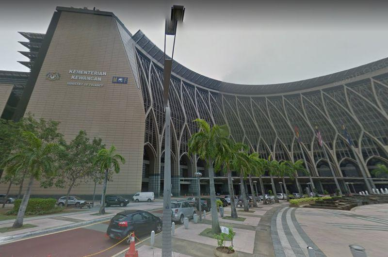 The building of Malaysia's Finance Ministry is pictured in Putrajaya. The Malaysian Bumiputera Furniture Industry Association expressed appreciation towards the Finance Ministry for a six-month extension to obtain a certification. — Picture via Google Maps