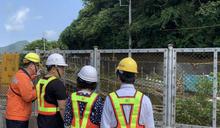 立法院交通委員會考察台鐵邊坡工程(1) (圖)