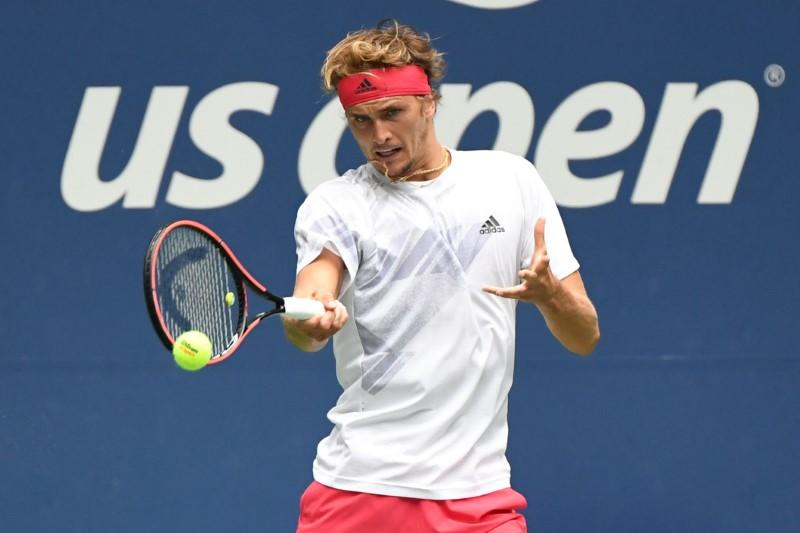 Zverev downs Anderson in battle of big servers
