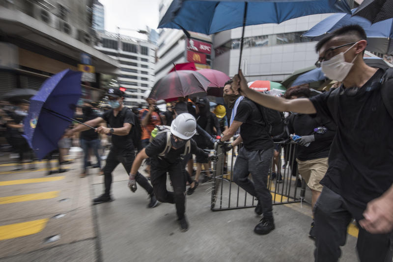 While Hong Kong said the controversial bill will be retracted, protests have continued with escaltating violence. Source: AAP