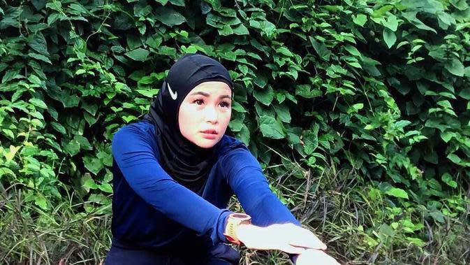 Soraya Larasati tetap berolahraga (Instagram/sorayalarasat1)