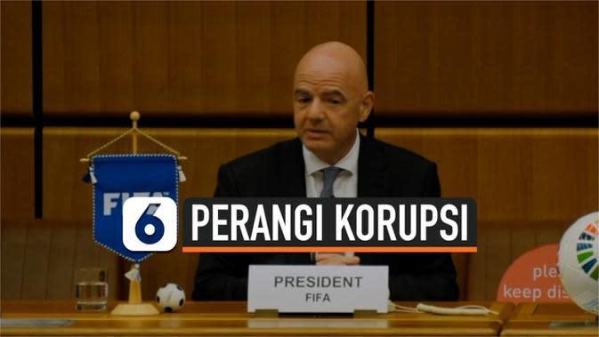VIDEO: Janji Presiden FIFA Bakal Transparan dan Perangi Korupsi
