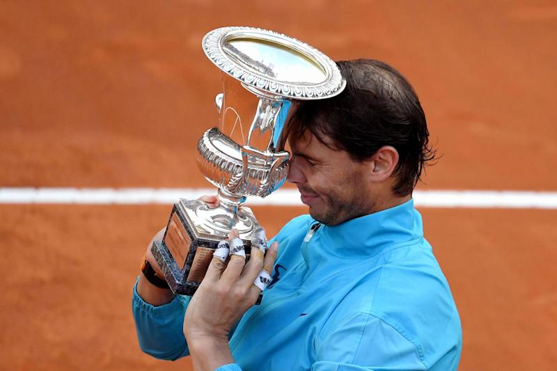 Rafael Nadal beats Novak Djokovic in Italian Open final to win record 34th ATP Masters title