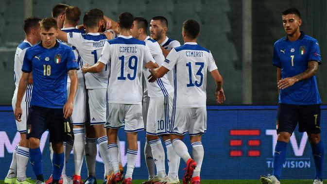 UEFA Nations League: Roberto Mancini Keliru Cadangkan Giorgio Chiellini karena tak Pakai Kacamata