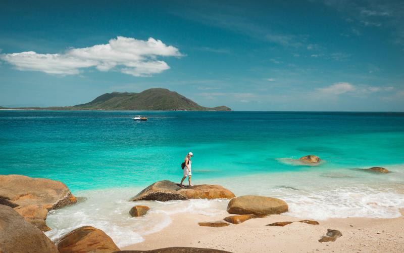 Beach near Cairns - Getty